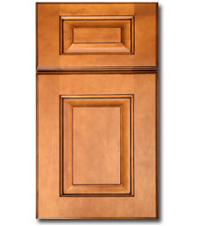 Green Forest Cabinetry - Glazed Caramel