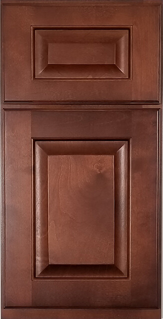Green Forest Cabinetry - Glazed Burgundy