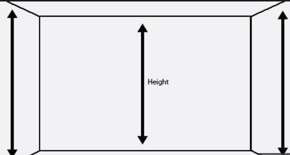 How to measure the Height of your room